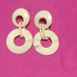 Beads & Shells Earrings